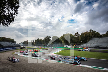 11/10/2020 - Start of the race during the 2020 4 Hours of Monza, 4th round of the 2020 European Le Mans Series, from October 9 to 11, 2020 on the Autodromo Nazionale di Monza, Italy - Photo Thomas Fenetre / DPPI - 4 HOURS OF MONZA, 4TH ROUND OF THE 2020 EUROPEAN LE MANS SERIES - SUNDAY - ENDURANCE - MOTORI
