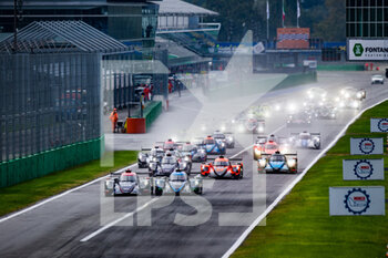 11/10/2020 - 22 Hanson Phil (gbr), Albuquerque Filipe (prt), United Autosport, Oreca 07 Gibson, action 30 Gommendy Tristan (fra), Hirschi Jonathan (che), Tereschenko Konstantin (rus), Duqueine Team,, Oreca 07 Gibson, action start of the race, depart, during the 2020 4 Hours of Monza, 4th round of the 2020 European Le Mans Series, from October 9 to 11, 2020 on the Autodromo Nazionale di Monza, Italy - Photo Germain Hazard / DPPI - 4 HOURS OF MONZA, 4TH ROUND OF THE 2020 EUROPEAN LE MANS SERIES - SUNDAY - ENDURANCE - MOTORI