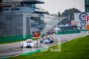 11/10/2020 - 27 Hedman Henrik (swe), Hanley Ben (gbr), Milesi Charles (fra), Dragonspeed USA, Oreca 07 Gibson, action during the 2020 4 Hours of Monza, 4th round of the 2020 European Le Mans Series, from October 9 to 11, 2020 on the Autodromo Nazionale di Monza, Italy - Photo Germain Hazard / DPPI - 4 HOURS OF MONZA, 4TH ROUND OF THE 2020 EUROPEAN LE MANS SERIES - SUNDAY - ENDURANCE - MOTORI
