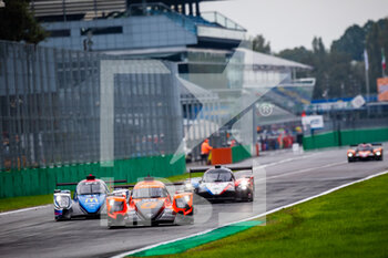 11/10/2020 - 26 Rusinov Roman (rus), Jensen Mikkel (dnk), Vergne Jean-Eric (fra), G-Drive Racing, Oreca 07 Gibson, action 31 Canal Julien (fra), Jamin Nicolas (fra), Stevens Will (gbr), Panis Racing, Oreca 07 Gibson, action during the 2020 4 Hours of Monza, 4th round of the 2020 European Le Mans Series, from October 9 to 11, 2020 on the Autodromo Nazionale di Monza, Italy - Photo Germain Hazard / DPPI - 4 HOURS OF MONZA, 4TH ROUND OF THE 2020 EUROPEAN LE MANS SERIES - SUNDAY - ENDURANCE - MOTORI