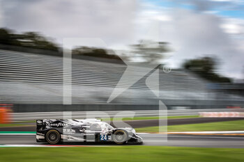 11/10/2020 - 24 Enqvist Henning (swe), Maini Arjun (ind), Lancaster Jon (gbr), Algarve Pro Racing, Oreca 07 Gibson, action during the 2020 4 Hours of Monza, 4th round of the 2020 European Le Mans Series, from October 9 to 11, 2020 on the Autodromo Nazionale di Monza, Italy - Photo Thomas Fenetre / DPPI - 4 HOURS OF MONZA, 4TH ROUND OF THE 2020 EUROPEAN LE MANS SERIES - SUNDAY - ENDURANCE - MOTORI