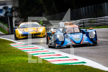 11/10/2020 - 35 Dracone Francesco (ita), Campana Sergio (ita), BHK Motorsport, Oreca 07 Gibson, action during the 2020 4 Hours of Monza, 4th round of the 2020 European Le Mans Series, from October 9 to 11, 2020 on the Autodromo Nazionale di Monza, Italy - Photo Germain Hazard / DPPI - 4 HOURS OF MONZA, 4TH ROUND OF THE 2020 EUROPEAN LE MANS SERIES - SUNDAY - ENDURANCE - MOTORI