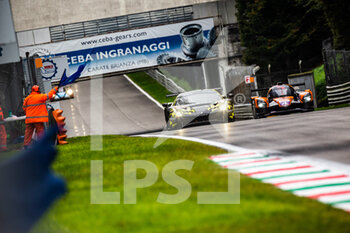 11/10/2020 - 60 Schiavoni Claudio (ita), Mastronardi Rino (ita), Nielsen Nicklas (dnk), Iron Lynx, Ferrari 488 GTE Evo, action 04 Horr Laurents (deu), Kirmann Francois (fra), Triller Wolfgang (deu), DKR Engineering, Duqueine M30 - D08 - Nissan, action during the 2020 4 Hours of Monza, 4th round of the 2020 European Le Mans Series, from October 9 to 11, 2020 on the Autodromo Nazionale di Monza, Italy - Photo Germain Hazard / DPPI - 4 HOURS OF MONZA, 4TH ROUND OF THE 2020 EUROPEAN LE MANS SERIES - SUNDAY - ENDURANCE - MOTORI
