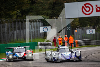 11/10/2020 - 20 Fjordbach Anders (dnk), Andersen Dennis (dnk), High Class Racing, Oreca 07 Gibson, action 09 Capillaire Vincent (fra), Robin Arnold (fra), Robin Maxime (fra), Graff, Ligier JS P320 - Nissan, action during the 2020 4 Hours of Monza, 4th round of the 2020 European Le Mans Series, from October 9 to 11, 2020 on the Autodromo Nazionale di Monza, Italy - Photo Germain Hazard / DPPI - 4 HOURS OF MONZA, 4TH ROUND OF THE 2020 EUROPEAN LE MANS SERIES - SUNDAY - ENDURANCE - MOTORI