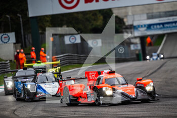 11/10/2020 - 28 Lafargue Paul (fra), Chatin Paul-Loup (fra), Bradley Richard (gbr), Idec Sport, Oreca 07 Gibson, action 39 Allen James (aus), Laurent Thomas (fra), Cougnaud Alexandre (fra), Graff, Oreca 07 Gibson, action during the 2020 4 Hours of Monza, 4th round of the 2020 European Le Mans Series, from October 9 to 11, 2020 on the Autodromo Nazionale di Monza, Italy - Photo Germain Hazard / DPPI - 4 HOURS OF MONZA, 4TH ROUND OF THE 2020 EUROPEAN LE MANS SERIES - SUNDAY - ENDURANCE - MOTORI