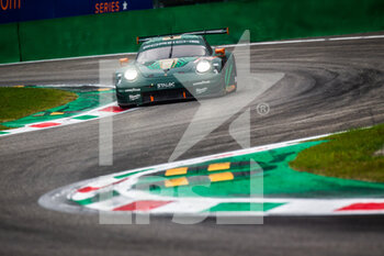 11/10/2020 - 93 Laser Felipe (deu), Lietz Richard (aut), Fassbenber Michael (ger), Proton Competition, Porsche 911 RSR, action during the 2020 4 Hours of Monza, 4th round of the 2020 European Le Mans Series, from October 9 to 11, 2020 on the Autodromo Nazionale di Monza, Italy - Photo Germain Hazard / DPPI - 4 HOURS OF MONZA, 4TH ROUND OF THE 2020 EUROPEAN LE MANS SERIES - SUNDAY - ENDURANCE - MOTORI