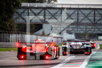 11/10/2020 - 28 Lafargue Paul (fra), Chatin Paul-Loup (fra), Bradley Richard (gbr), Idec Sport, Oreca 07 Gibson, action during the 2020 4 Hours of Monza, 4th round of the 2020 European Le Mans Series, from October 9 to 11, 2020 on the Autodromo Nazionale di Monza, Italy - Photo Germain Hazard / DPPI - 4 HOURS OF MONZA, 4TH ROUND OF THE 2020 EUROPEAN LE MANS SERIES - SUNDAY - ENDURANCE - MOTORI