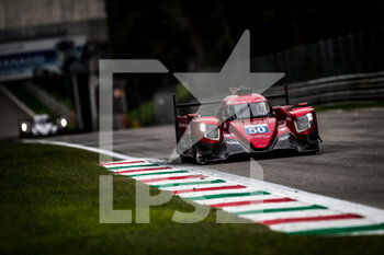 11/10/2020 - 50 Visser Beitske (nld), Floersch Sophia (ger), Richard Mille Racing Team, Oreca 07 Gibson, action during the 2020 4 Hours of Monza, 4th round of the 2020 European Le Mans Series, from October 9 to 11, 2020 on the Autodromo Nazionale di Monza, Italy - Photo Thomas Fenetre / DPPI - 4 HOURS OF MONZA, 4TH ROUND OF THE 2020 EUROPEAN LE MANS SERIES - SUNDAY - ENDURANCE - MOTORI