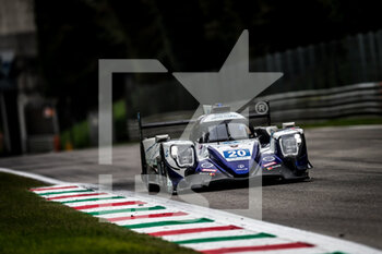 11/10/2020 - 20 Fjordbach Anders (dnk), Andersen Dennis (dnk), High Class Racing, Oreca 07 Gibson, action during the 2020 4 Hours of Monza, 4th round of the 2020 European Le Mans Series, from October 9 to 11, 2020 on the Autodromo Nazionale di Monza, Italy - Photo Thomas Fenetre / DPPI - 4 HOURS OF MONZA, 4TH ROUND OF THE 2020 EUROPEAN LE MANS SERIES - SUNDAY - ENDURANCE - MOTORI