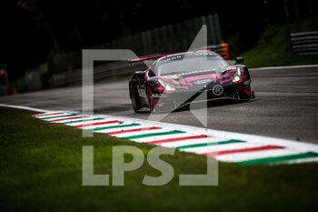 11/10/2020 - 83 Gostner Manuel (ita), Gatting Michelle (dnk), Frey Rahel (che), Iron Lynx, Ferrari 488 GTE Evo, action during the 2020 4 Hours of Monza, 4th round of the 2020 European Le Mans Series, from October 9 to 11, 2020 on the Autodromo Nazionale di Monza, Italy - Photo Thomas Fenetre / DPPI - 4 HOURS OF MONZA, 4TH ROUND OF THE 2020 EUROPEAN LE MANS SERIES - SUNDAY - ENDURANCE - MOTORI