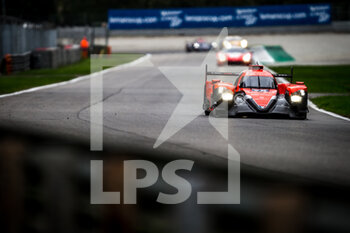 11/10/2020 - 28 Lafargue Paul (fra), Chatin Paul-Loup (fra), Bradley Richard (gbr), Idec Sport, Oreca 07 Gibson, action during the 2020 4 Hours of Monza, 4th round of the 2020 European Le Mans Series, from October 9 to 11, 2020 on the Autodromo Nazionale di Monza, Italy - Photo Thomas Fenetre / DPPI - 4 HOURS OF MONZA, 4TH ROUND OF THE 2020 EUROPEAN LE MANS SERIES - SUNDAY - ENDURANCE - MOTORI