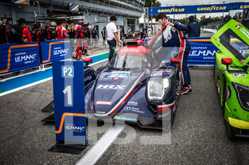 11/10/2020 - 22 Hanson Phil (gbr), Albuquerque Filipe (prt), United Autosport, Oreca 07 Gibson, vainqueur, winner during the 2020 4 Hours of Monza, 4th round of the 2020 European Le Mans Series, from October 9 to 11, 2020 on the Autodromo Nazionale di Monza, Italy - Photo Thomas Fenetre / DPPI - 4 HOURS OF MONZA, 4TH ROUND OF THE 2020 EUROPEAN LE MANS SERIES - SUNDAY - ENDURANCE - MOTORI