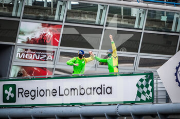 11/10/2020 - Lunardi Dino (fra), Hippe Martin (deu), Inter Europol Competition, Ligier JS P320 - Nissan, vainqueur, winner during the 2020 4 Hours of Monza, 4th round of the 2020 European Le Mans Series, from October 9 to 11, 2020 on the Autodromo Nazionale di Monza, Italy - Photo Thomas Fenetre / DPPI - 4 HOURS OF MONZA, 4TH ROUND OF THE 2020 EUROPEAN LE MANS SERIES - SUNDAY - ENDURANCE - MOTORI