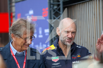 08/09/2019 - Adrian Newey (GBR), Red Bull Racing Technical Operations Directo - GRAN PREMIO HEINEKEN D´ITALIA 2019 - DOMENICA - PADDOCK - FORMULA 1 - MOTORI