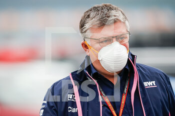 14/11/2020 - SZAFNAUER Otmar (rom), Team Principal and CEO of Racing Point F1, portrait during the Formula 1 DHL Turkish Grand Prix 2020, from November 13 to 15, 2020 on the Intercity Istanbul Park, in Tuzla, near Istanbul, Turkey - Photo Antonin Vincent / DPPI - FORMULA 1 DHL TURKISH GRAND PRIX 2020 - SATURDAY - FORMULA 1 - MOTORI