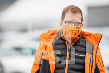 14/11/2020 - SEIDL Andreas, Team Principal of McLaren F1, portrait during the Formula 1 DHL Turkish Grand Prix 2020, from November 13 to 15, 2020 on the Intercity Istanbul Park, in Tuzla, near Istanbul, Turkey - Photo Antonin Vincent / DPPI - FORMULA 1 DHL TURKISH GRAND PRIX 2020 - SATURDAY - FORMULA 1 - MOTORI