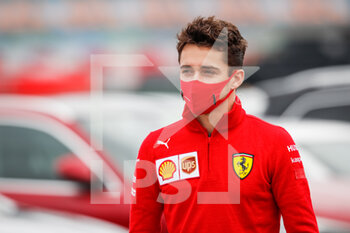 14/11/2020 - LECLERC Charles (mco), Scuderia Ferrari SF1000, portrait during the Formula 1 DHL Turkish Grand Prix 2020, from November 13 to 15, 2020 on the Intercity Istanbul Park, in Tuzla, near Istanbul, Turkey - Photo Antonin Vincent / DPPI - FORMULA 1 DHL TURKISH GRAND PRIX 2020 - SATURDAY - FORMULA 1 - MOTORI