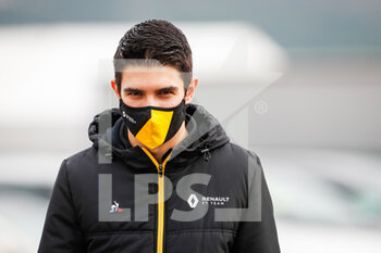 14/11/2020 - OCON Esteban (fra), Renault F1 Team RS20, portrait during the Formula 1 DHL Turkish Grand Prix 2020, from November 13 to 15, 2020 on the Intercity Istanbul Park, in Tuzla, near Istanbul, Turkey - Photo Antonin Vincent / DPPI - FORMULA 1 DHL TURKISH GRAND PRIX 2020 - SATURDAY - FORMULA 1 - MOTORI