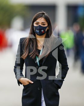 14/11/2020 - Dziwiszek Sandra, girlfriend of Nicholas during the Formula 1 DHL Turkish Grand Prix 2020, from November 13 to 15, 2020 on the Intercity Istanbul Park, in Tuzla, near Istanbul, Turkey - Photo Florent Gooden / DPPI - FORMULA 1 DHL TURKISH GRAND PRIX 2020 - SATURDAY - FORMULA 1 - MOTORI