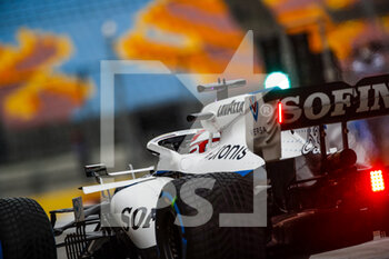 14/11/2020 - RUSSELL George (gbr), Williams Racing F1 FW43, action during the Formula 1 DHL Turkish Grand Prix 2020, from November 13 to 15, 2020 on the Intercity Istanbul Park, in Tuzla, near Istanbul, Turkey - Photo Florent Gooden / DPPI - FORMULA 1 DHL TURKISH GRAND PRIX 2020 - SATURDAY - FORMULA 1 - MOTORI