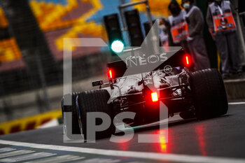 14/11/2020 - HAMILTON Lewis (gbr), Mercedes AMG F1 GP W11 Hybrid EQ Power+, action during the Formula 1 DHL Turkish Grand Prix 2020, from November 13 to 15, 2020 on the Intercity Istanbul Park, in Tuzla, near Istanbul, Turkey - Photo Florent Gooden / DPPI - FORMULA 1 DHL TURKISH GRAND PRIX 2020 - SATURDAY - FORMULA 1 - MOTORI