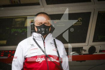 14/11/2020 - VASSEUR Frederic (fra), Team Principal of Alfa Romeo Racing ORLEN, portrait during the Formula 1 DHL Turkish Grand Prix 2020, from November 13 to 15, 2020 on the Intercity Istanbul Park, in Tuzla, near Istanbul, Turkey - Photo Florent Gooden / DPPI - FORMULA 1 DHL TURKISH GRAND PRIX 2020 - SATURDAY - FORMULA 1 - MOTORI