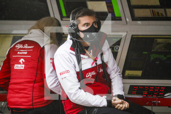 14/11/2020 - PUJOLAR Xevi (spa), Head of Trackside Engineering F1 of Alfa Romeo Racing ORLEN, portrait during the Formula 1 DHL Turkish Grand Prix 2020, from November 13 to 15, 2020 on the Intercity Istanbul Park, in Tuzla, near Istanbul, Turkey - Photo Florent Gooden / DPPI - FORMULA 1 DHL TURKISH GRAND PRIX 2020 - SATURDAY - FORMULA 1 - MOTORI