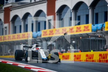 14/11/2020 - 63 RUSSELL George (gbr), Williams Racing F1 FW43, action during the Formula 1 DHL Turkish Grand Prix 2020, from November 13 to 15, 2020 on the Intercity Istanbul Park, in Tuzla, near Istanbul, Turkey - Photo Antonin Vincent / DPPI - FORMULA 1 DHL TURKISH GRAND PRIX 2020 - SATURDAY - FORMULA 1 - MOTORI