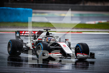 14/11/2020 - 08 GROSJEAN Romain (fra), Haas F1 Team VF-20 Ferrari, action during the Formula 1 DHL Turkish Grand Prix 2020, from November 13 to 15, 2020 on the Intercity Istanbul Park, in Tuzla, near Istanbul, Turkey - Photo Antonin Vincent / DPPI - FORMULA 1 DHL TURKISH GRAND PRIX 2020 - SATURDAY - FORMULA 1 - MOTORI