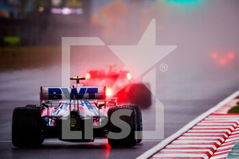 14/11/2020 - 18 STROLL Lance (can), Racing Point F1 RP20, action during the Formula 1 DHL Turkish Grand Prix 2020, from November 13 to 15, 2020 on the Intercity Istanbul Park, in Tuzla, near Istanbul, Turkey - Photo Antonin Vincent / DPPI - FORMULA 1 DHL TURKISH GRAND PRIX 2020 - SATURDAY - FORMULA 1 - MOTORI