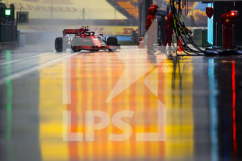 14/11/2020 - LECLERC Charles (mco), Scuderia Ferrari SF1000, action during the Formula 1 DHL Turkish Grand Prix 2020, from November 13 to 15, 2020 on the Intercity Istanbul Park, in Tuzla, near Istanbul, Turkey - Photo Florent Gooden / DPPI - FORMULA 1 DHL TURKISH GRAND PRIX 2020 - SATURDAY - FORMULA 1 - MOTORI