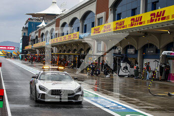 14/11/2020 - The FIA Mercedes AMG Safety Car during the Formula 1 DHL Turkish Grand Prix 2020, from November 13 to 15, 2020 on the Intercity Istanbul Park, in Tuzla, near Istanbul, Turkey - Photo Florent Gooden / DPPI - FORMULA 1 DHL TURKISH GRAND PRIX 2020 - SATURDAY - FORMULA 1 - MOTORI