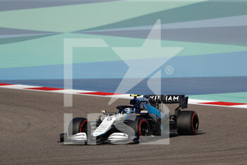 27/03/2021 - 06 LATIFI Nicholas (can), Williams Racing F1 FW43B, action during Formula 1 Gulf Air Bahrain Grand Prix 2021 from March 26 to 28, 2021 on the Bahrain International Circuit, in Sakhir, Bahrain - Photo Frédéric Le Floc?h / DPPI - FORMULA 1 GULF AIR BAHRAIN GRAND PRIX 2021 - FORMULA 1 - MOTORI
