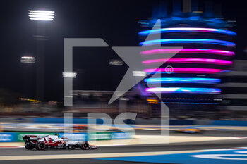 27/03/2021 - 99 GIOVINAZZI Antonio (ita), Alfa Romeo Racing ORLEN C41, action during Formula 1 Gulf Air Bahrain Grand Prix 2021 from March 26 to 28, 2021 on the Bahrain International Circuit, in Sakhir, Bahrain - Photo Frédéric Le Floc?h / DPPI - FORMULA 1 GULF AIR BAHRAIN GRAND PRIX 2021 - FORMULA 1 - MOTORI