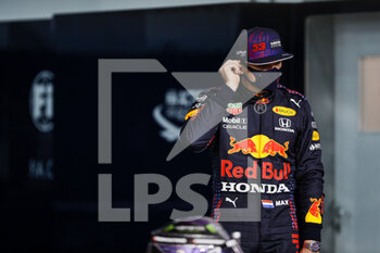 27/03/2021 - VERSTAPPEN Max (ned), Red Bull Racing Honda RB16B, portrait during Formula 1 Gulf Air Bahrain Grand Prix 2021 from March 26 to 28, 2021 on the Bahrain International Circuit, in Sakhir, Bahrain - Photo Frédéric Le Floc?h / DPPI - FORMULA 1 GULF AIR BAHRAIN GRAND PRIX 2021 - FORMULA 1 - MOTORI