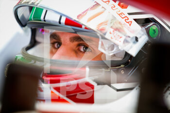 27/03/2021 - GIOVINAZZI Antonio (ita), Alfa Romeo Racing ORLEN C41, portrait during Formula 1 Gulf Air Bahrain Grand Prix 2021 from March 26 to 28, 2021 on the Bahrain International Circuit, in Sakhir, Bahrain - Photo Florent Gooden / DPPI - FORMULA 1 GULF AIR BAHRAIN GRAND PRIX 2021 - FORMULA 1 - MOTORI