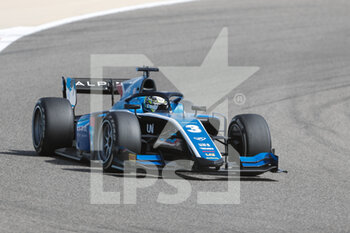28/03/2021 - 03 Zhou Guanyu (chn), UNI-Virtuosi Racing, Dallara F2, action during the 1st round of the 2021 FIA Formula 2 Championship from March 26 to 28, 2021 on the Bahrain International Circuit, in Sakhir, Bahrain - Photo Frédéric Le Floc?h / DPPI - 1ST ROUND OF THE 2021 FIA FORMULA 2 CHAMPIONSHIP - FORMULA 2 - MOTORI