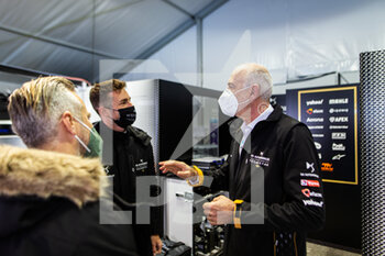 10/04/2021 - Finot Jean-Marc, PSA Motorsport Director, portrait Rossiter James, DS Techeetah Sporting Director & Reserve driver, portrait Monteiro Tiago during the 2021 Rome ePrix, 3rd round of the 2020-21 Formula E World Championship, on the Circuito Cittadino dell'EUR from April 9 to 11, in Rome, Italy - Photo Germain Hazard / DPPI - 2021 ROME EPRIX, 3RD ROUND OF THE 2020-21 FORMULA E WORLD CHAMPIONSHIP - FORMULA E - MOTORI