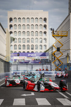 10/04/2021 - 11 Di Grassi Lucas (bra), Audi Sport ABT Schaeffler, Audi e-ton FE07, action during the 2021 Rome ePrix, 3rd round of the 2020-21 Formula E World Championship, on the Circuito Cittadino dell'EUR from April 9 to 11, in Rome, Italy - Photo François Flamand / DPPI - 2021 ROME EPRIX, 3RD ROUND OF THE 2020-21 FORMULA E WORLD CHAMPIONSHIP - FORMULA E - MOTORI