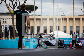10/04/2021 - 05 Vandoorne Stoffel (bel), Mercedes-Benz EQ Formula E Team, Mercedes-Benz EQ Silver Arrow 02, action during the 2021 Rome ePrix, 3rd round of the 2020-21 Formula E World Championship, on the Circuito Cittadino dell'EUR from April 9 to 11, in Rome, Italy - Photo Germain Hazard / DPPI - 2021 ROME EPRIX, 3RD ROUND OF THE 2020-21 FORMULA E WORLD CHAMPIONSHIP - FORMULA E - MOTORI
