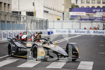 10/04/2021 - 13 Da Costa Antonio Felix (por), DS Techeetah, DS E-Tense FE20, action during the 2021 Rome ePrix, 3rd round of the 2020-21 Formula E World Championship, on the Circuito Cittadino dell'EUR from April 9 to 11, in Rome, Italy - Photo François Flamand / DPPI - 2021 ROME EPRIX, 3RD ROUND OF THE 2020-21 FORMULA E WORLD CHAMPIONSHIP - FORMULA E - MOTORI
