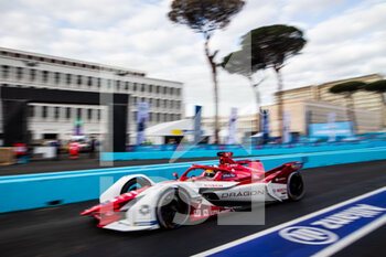 10/04/2021 - 07 Sette Camara Sergio (bra), Dragon / Penske Autosport, Penske EV-5, action during the 2021 Rome ePrix, 3rd round of the 2020-21 Formula E World Championship, on the Circuito Cittadino dell'EUR from April 9 to 11, in Rome, Italy - Photo Germain Hazard / DPPI - 2021 ROME EPRIX, 3RD ROUND OF THE 2020-21 FORMULA E WORLD CHAMPIONSHIP - FORMULA E - MOTORI