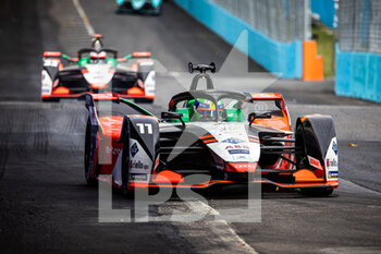 10/04/2021 - 11 Di Grassi Lucas (bra), Audi Sport ABT Schaeffler, Audi e-ton FE07, action during the 2021 Rome ePrix, 3rd round of the 2020-21 Formula E World Championship, on the Circuito Cittadino dell'EUR from April 9 to 11, in Rome, Italy - Photo Germain Hazard / DPPI - 2021 ROME EPRIX, 3RD ROUND OF THE 2020-21 FORMULA E WORLD CHAMPIONSHIP - FORMULA E - MOTORI
