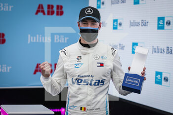 10/04/2021 - VANDOORNE Stoffel (bel), Mercedes-Benz EQ Formula E Team, Mercedes-Benz EQ Silver Arrow 02, portrait pole position race 1 during the 2021 Rome ePrix, 3rd round of the 2020-21 Formula E World Championship, on the Circuito Cittadino dell'EUR from April 9 to 11, in Rome, Italy - Photo François Flamand / DPPI - 2021 ROME EPRIX, 3RD ROUND OF THE 2020-21 FORMULA E WORLD CHAMPIONSHIP - FORMULA E - MOTORI