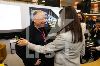 10/04/2021 - TODT Jean (fra) FIA President, portrait, Virginia Raggi, Mayor of Rome during the 2021 Rome ePrix, 3rd round of the 2020-21 Formula E World Championship, on the Circuito Cittadino dell'EUR from April 9 to 11, in Rome, Italy - Photo Germain Hazard / DPPI - 2021 ROME EPRIX, 3RD ROUND OF THE 2020-21 FORMULA E WORLD CHAMPIONSHIP - FORMULA E - MOTORI