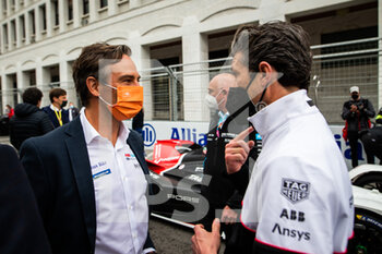 10/04/2021 - REIGLER Jamie, CEO of the Formula E and DEMPSEY Patrick grille de depart starting grid during the 2021 Rome ePrix, 3rd round of the 2020-21 Formula E World Championship, on the Circuito Cittadino dell'EUR from April 9 to 11, in Rome, Italy - Photo Germain Hazard / DPPI - 2021 ROME EPRIX, 3RD ROUND OF THE 2020-21 FORMULA E WORLD CHAMPIONSHIP - FORMULA E - MOTORI