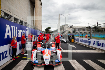 10/04/2021 - LYNN Alexandre (gbr), Mahindra Racing, Mahinda M7Electro, portrait grille de depart starting grid during the 2021 Rome ePrix, 3rd round of the 2020-21 Formula E World Championship, on the Circuito Cittadino dell'EUR from April 9 to 11, in Rome, Italy - Photo Germain Hazard / DPPI - 2021 ROME EPRIX, 3RD ROUND OF THE 2020-21 FORMULA E WORLD CHAMPIONSHIP - FORMULA E - MOTORI