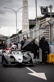 10/04/2021 - NATO Norman (fra), ROKiT Venturi Racing, Mercedes-Benz EQ Silver Arrow 02, portrait grille de depart starting grid during the 2021 Rome ePrix, 3rd round of the 2020-21 Formula E World Championship, on the Circuito Cittadino dell'EUR from April 9 to 11, in Rome, Italy - Photo Germain Hazard / DPPI - 2021 ROME EPRIX, 3RD ROUND OF THE 2020-21 FORMULA E WORLD CHAMPIONSHIP - FORMULA E - MOTORI