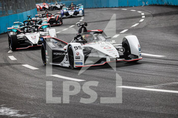 10/04/2021 - 99 Wehrlein Pascal (ger), TAG Heuer Porsche Formula E Team, Porsche 99X Electric, action during the 2021 Rome ePrix, 3rd round of the 2020-21 Formula E World Championship, on the Circuito Cittadino dell'EUR from April 9 to 11, in Rome, Italy - Photo Germain Hazard / DPPI - 2021 ROME EPRIX, 3RD ROUND OF THE 2020-21 FORMULA E WORLD CHAMPIONSHIP - FORMULA E - MOTORI