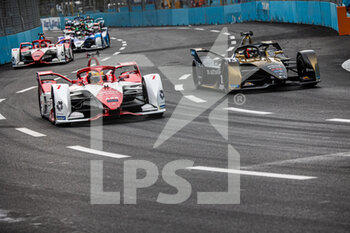 10/04/2021 - 07 Sette Camara Sergio (bra), Dragon / Penske Autosport, Penske EV-5, action 13 Da Costa Antonio Felix (por), DS Techeetah, DS E-Tense FE20, action during the 2021 Rome ePrix, 3rd round of the 2020-21 Formula E World Championship, on the Circuito Cittadino dell'EUR from April 9 to 11, in Rome, Italy - Photo Germain Hazard / DPPI - 2021 ROME EPRIX, 3RD ROUND OF THE 2020-21 FORMULA E WORLD CHAMPIONSHIP - FORMULA E - MOTORI